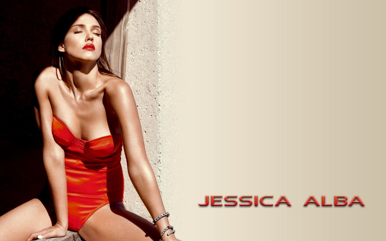 Latest Cute Wallpapers For Facebook Jessica Alba Bikini Wallpapers 14