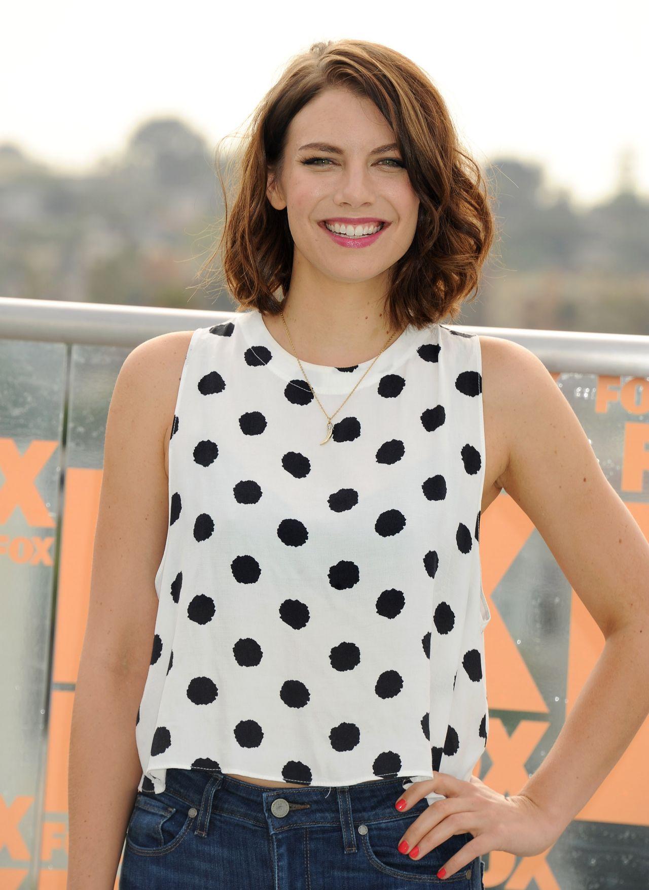 Lauren Cohan  2014 FOX International Channels ComicCon