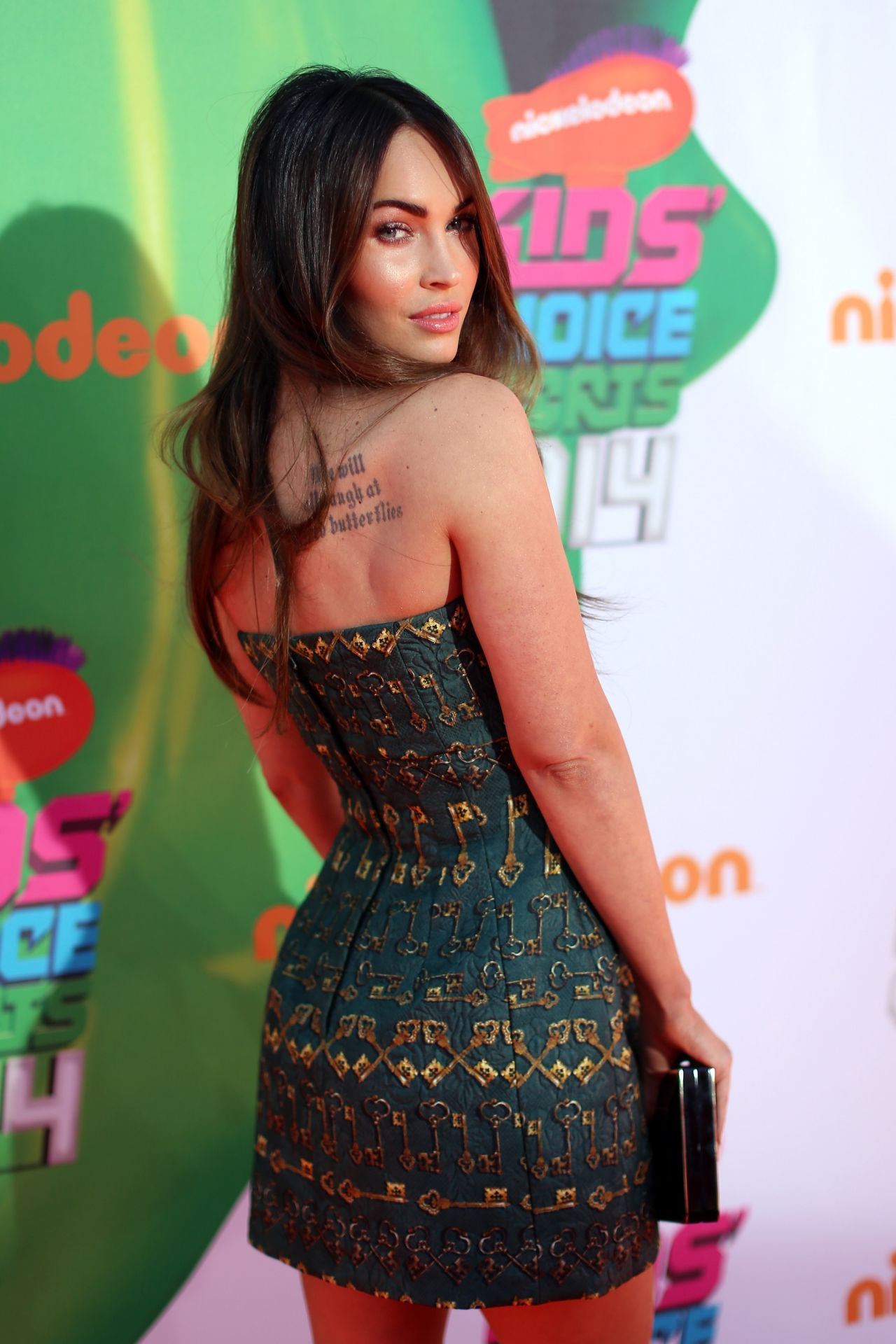Megan Fox  2014 Nickelodeon Kids Choice Sports Awards in