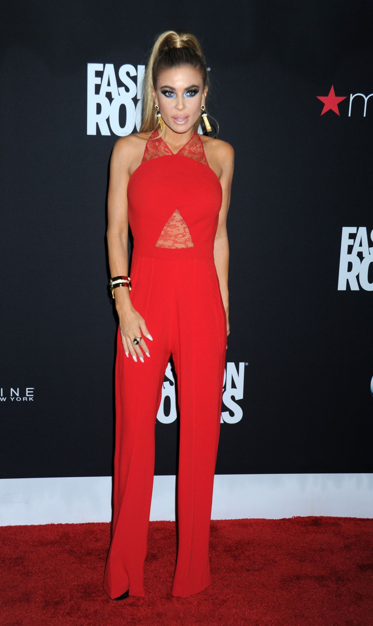 Carmen Electra  Fashion Rocks 2014 in New York City