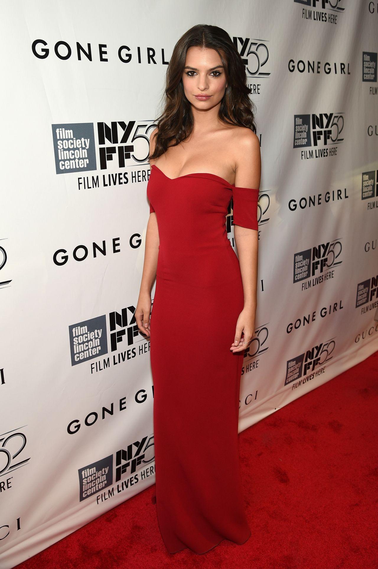 Emily Ratajkowski Gone Girl Premiere In New York