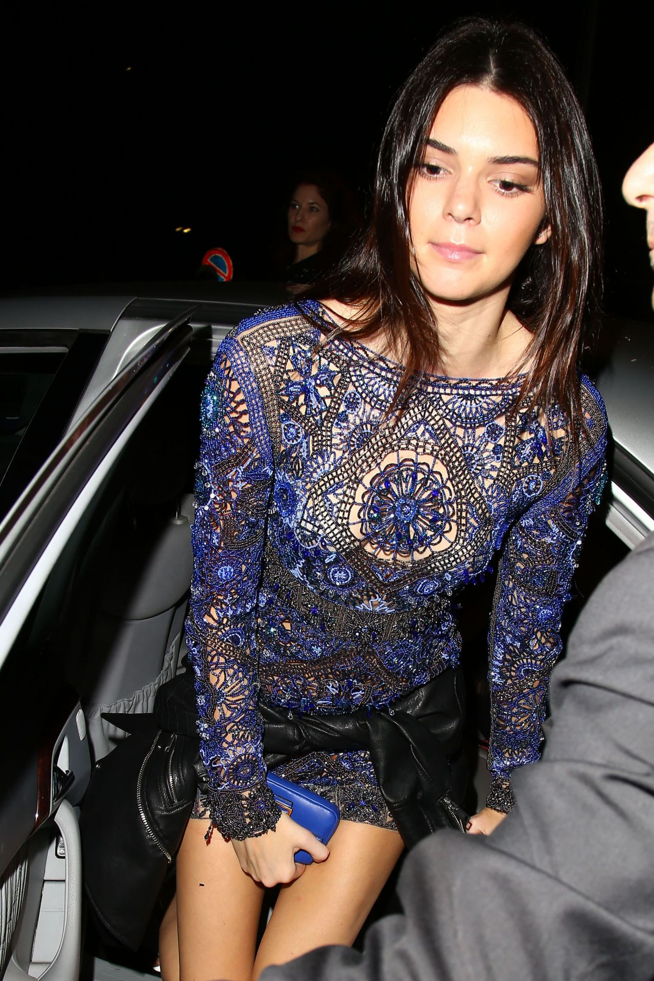 Kendall Jenner  Vogue Magazine Italia 50th Anniversary at Piazza Castello in Italy