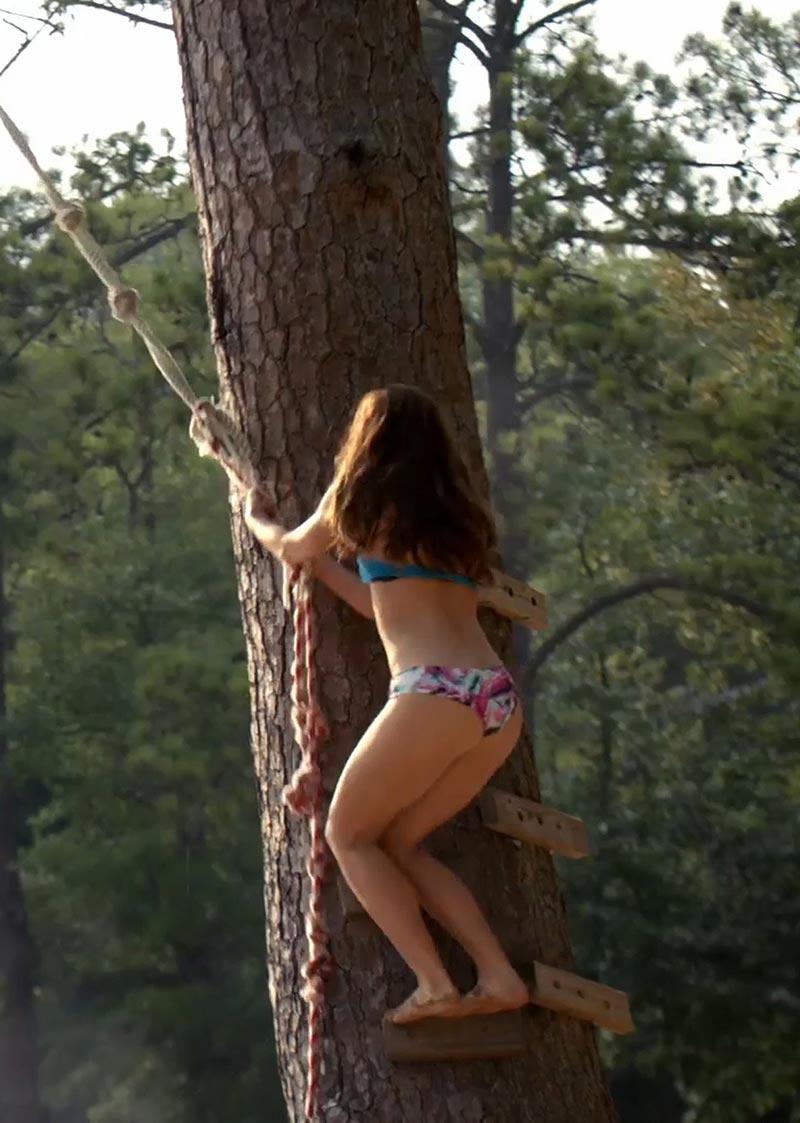 Nina Dobrev in a Bikini  The Vampire Diaries Photos