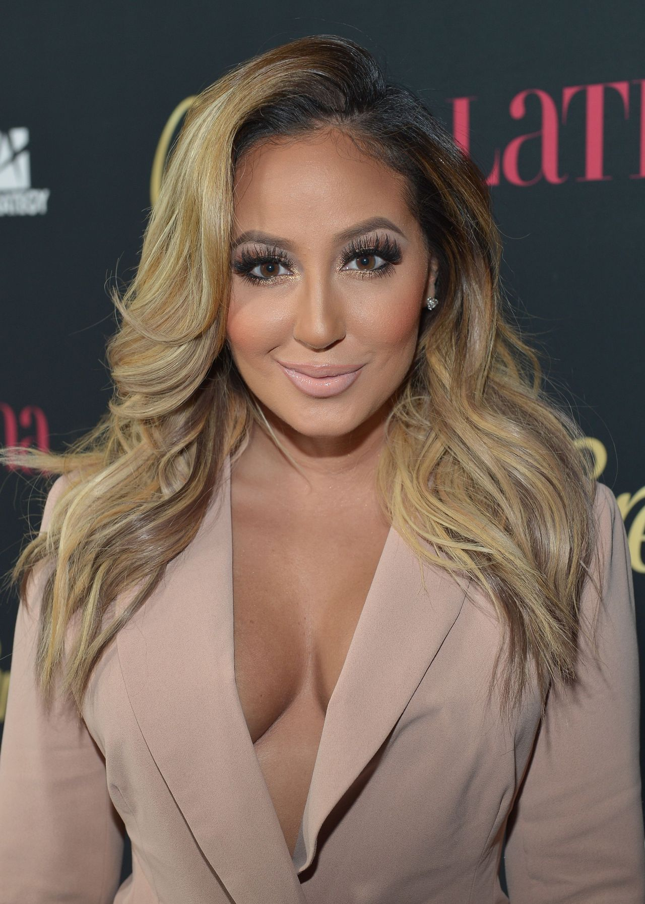 Adrienne Bailon Latina Magazines Hollywood Hot List