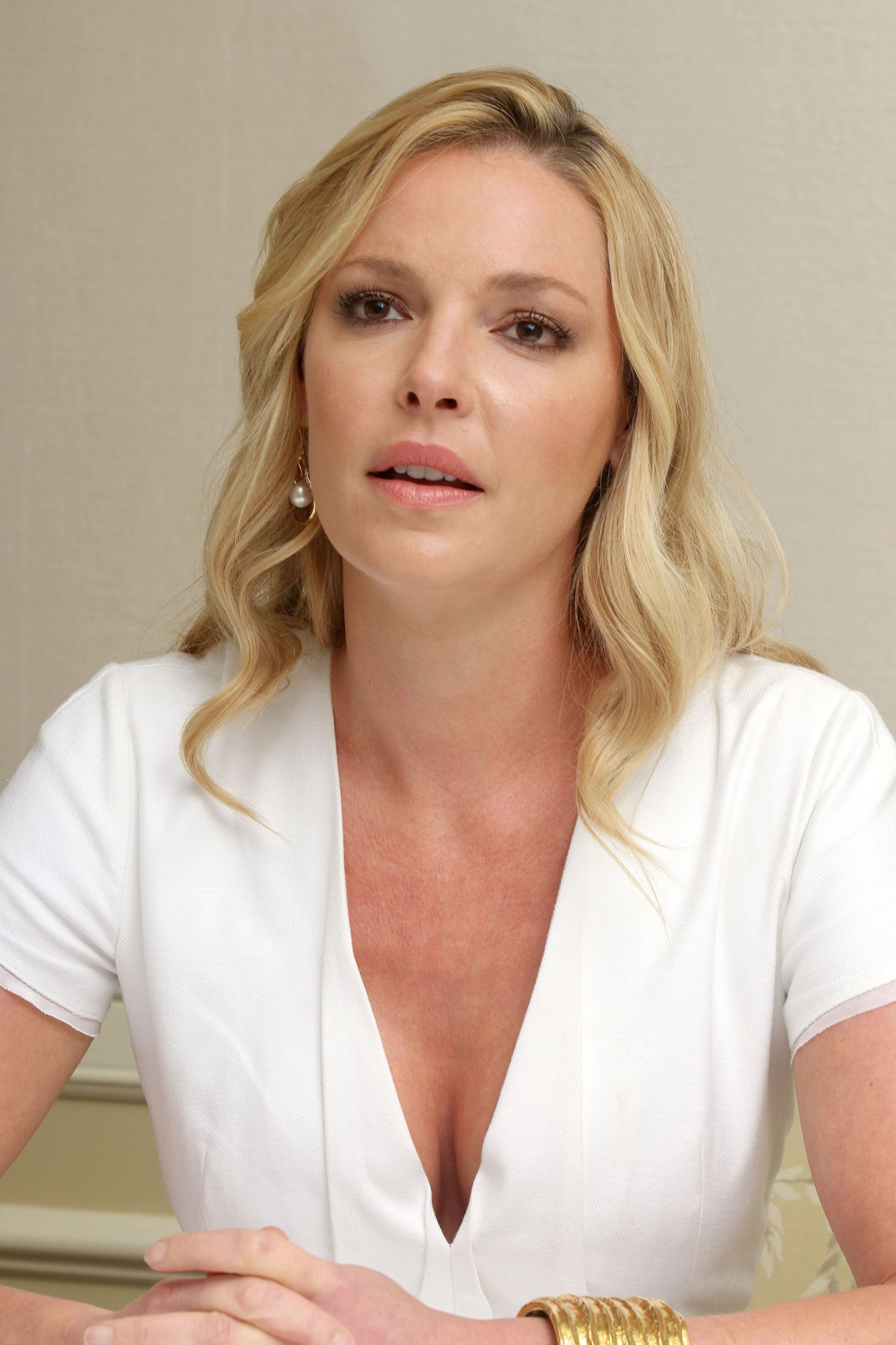 Katherine Heigl  State Of Affairs Press Conference in