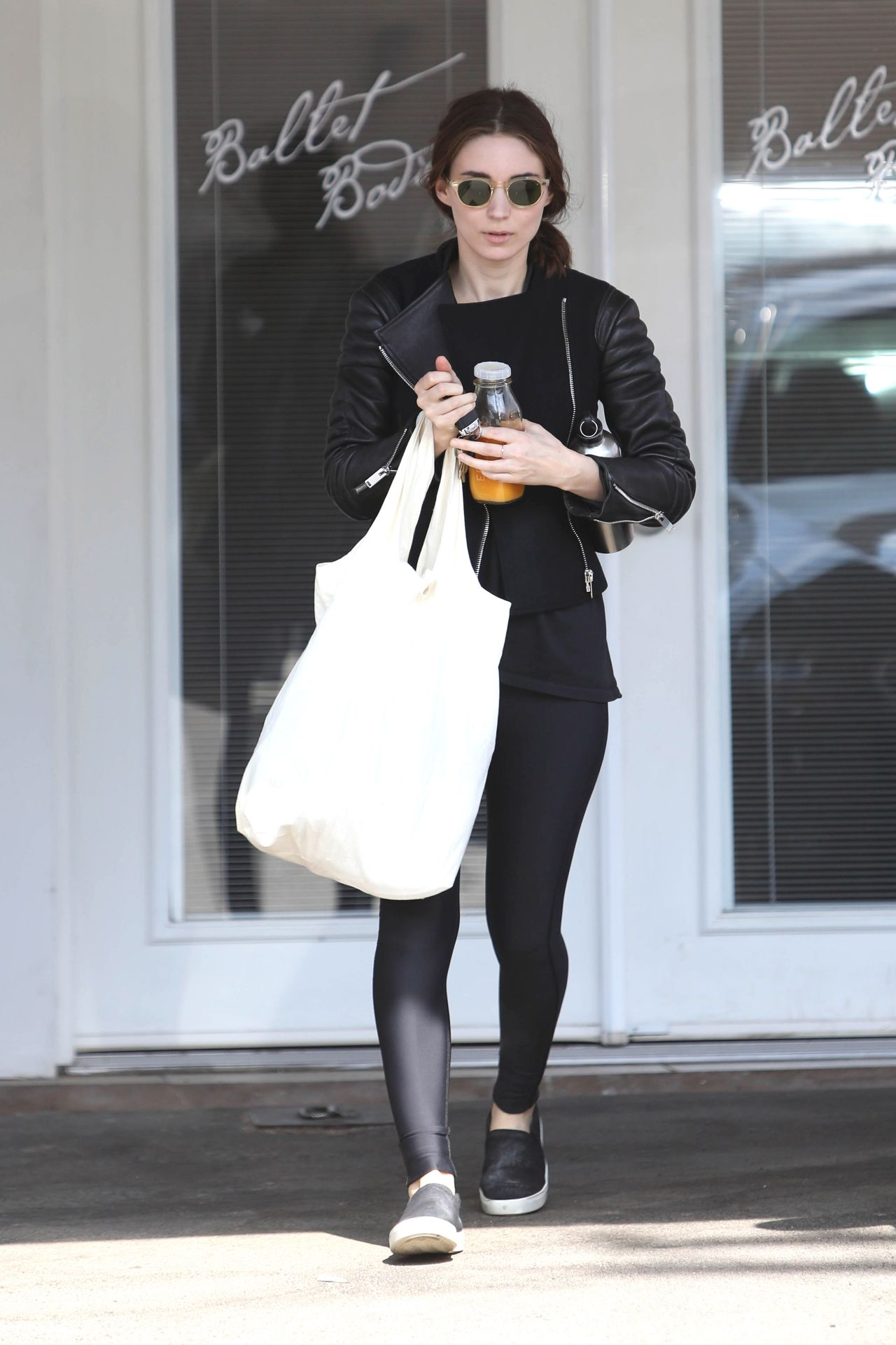 Rooney Mara  Leaving a Ballet Body Class in West Hollywood  October 2014
