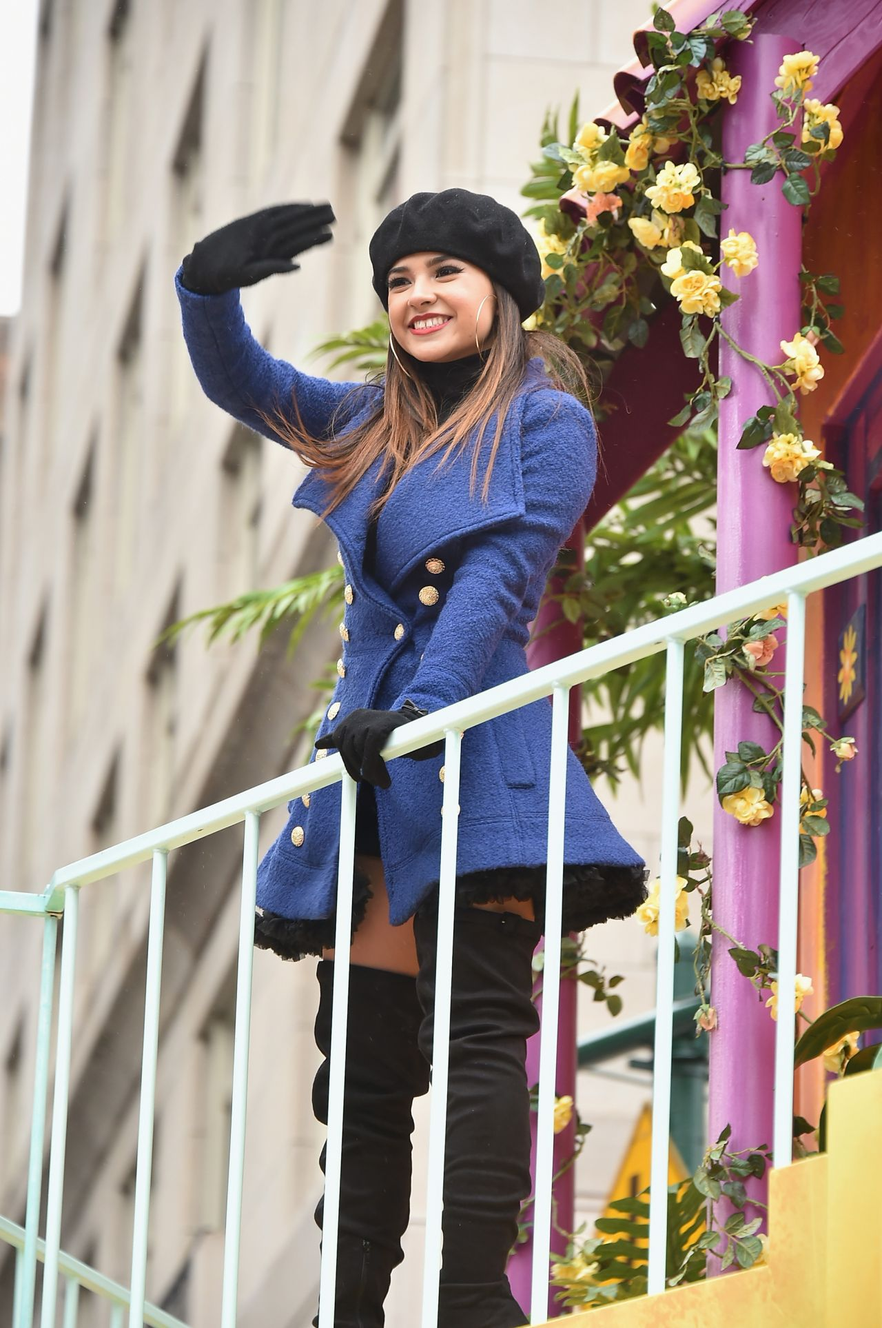 Becky G  2014 Macys Thanksgiving Day Parade in New York City