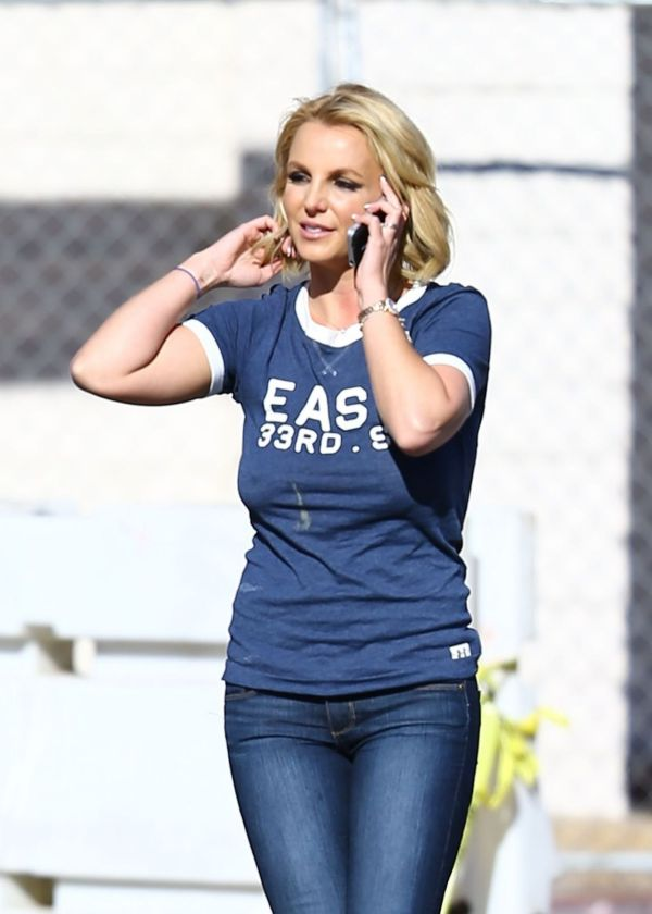 Britney Spears Jeans 2014