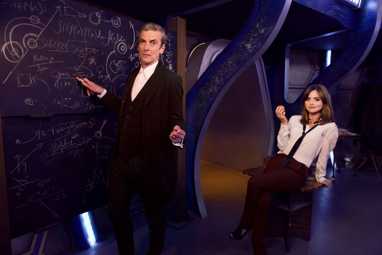 Jenna Coleman Doctor Who Season 8 Photoshoot