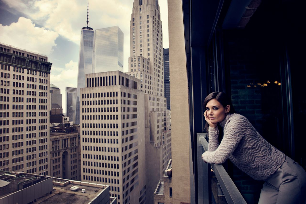 Fall New England Wallpaper Katie Holmes Photoshoot For New York Moves November 2014