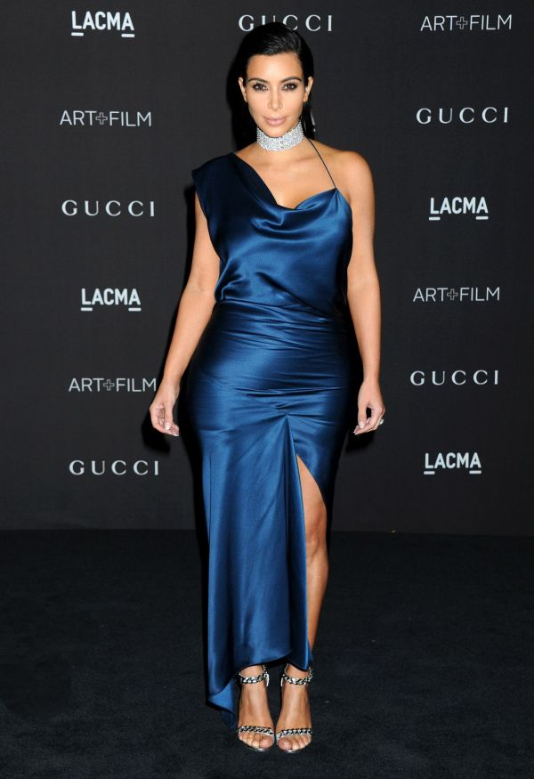 Kim Kardashian 2014 Lacma Art Film Gala In Los Angeles