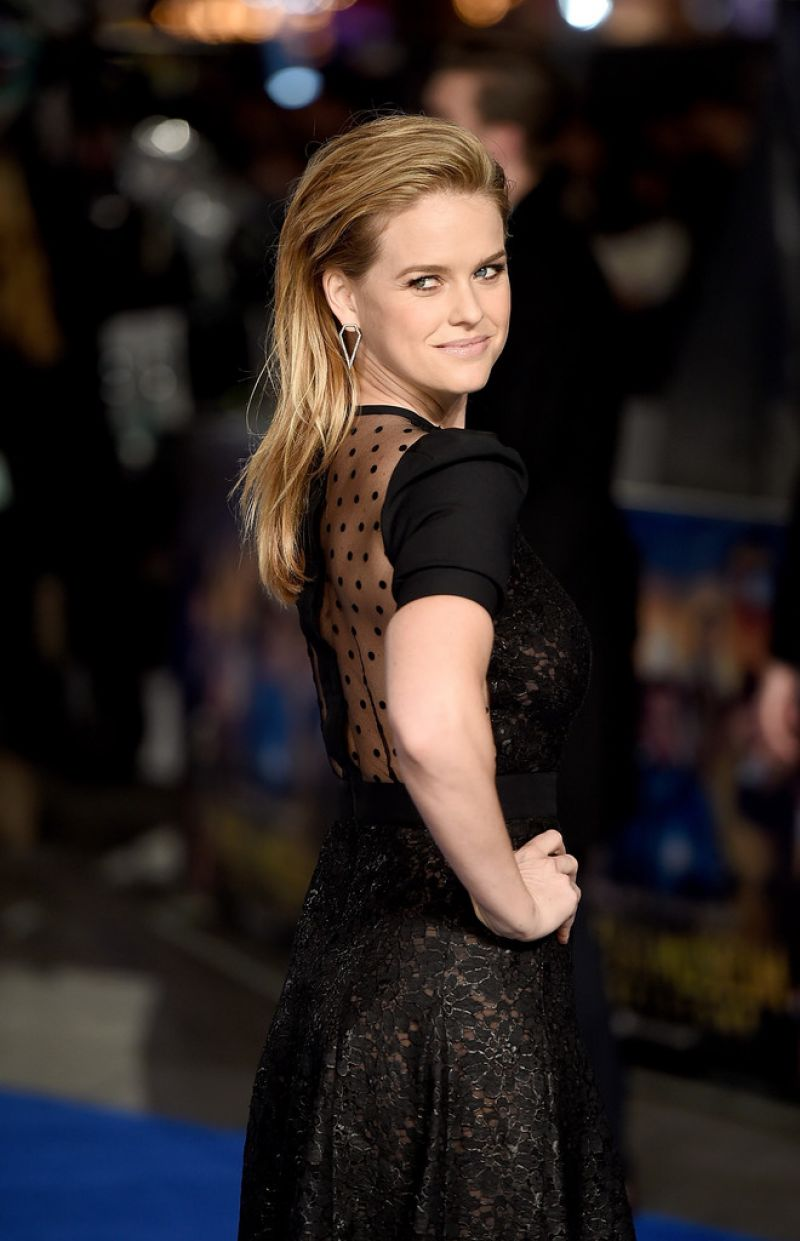 Alice Eve  Night At The Museum Secret Of The Tomb Premiere in London