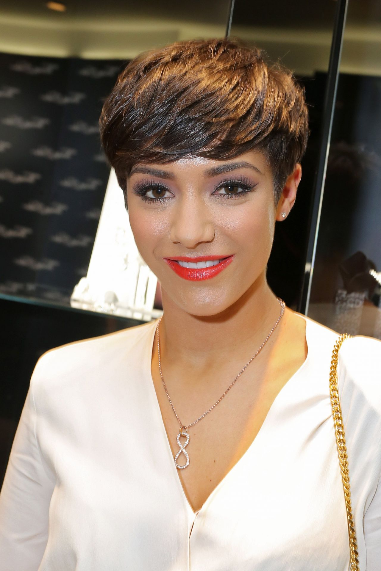 Frankie Sandford Thomas Sabo Store Launch In London