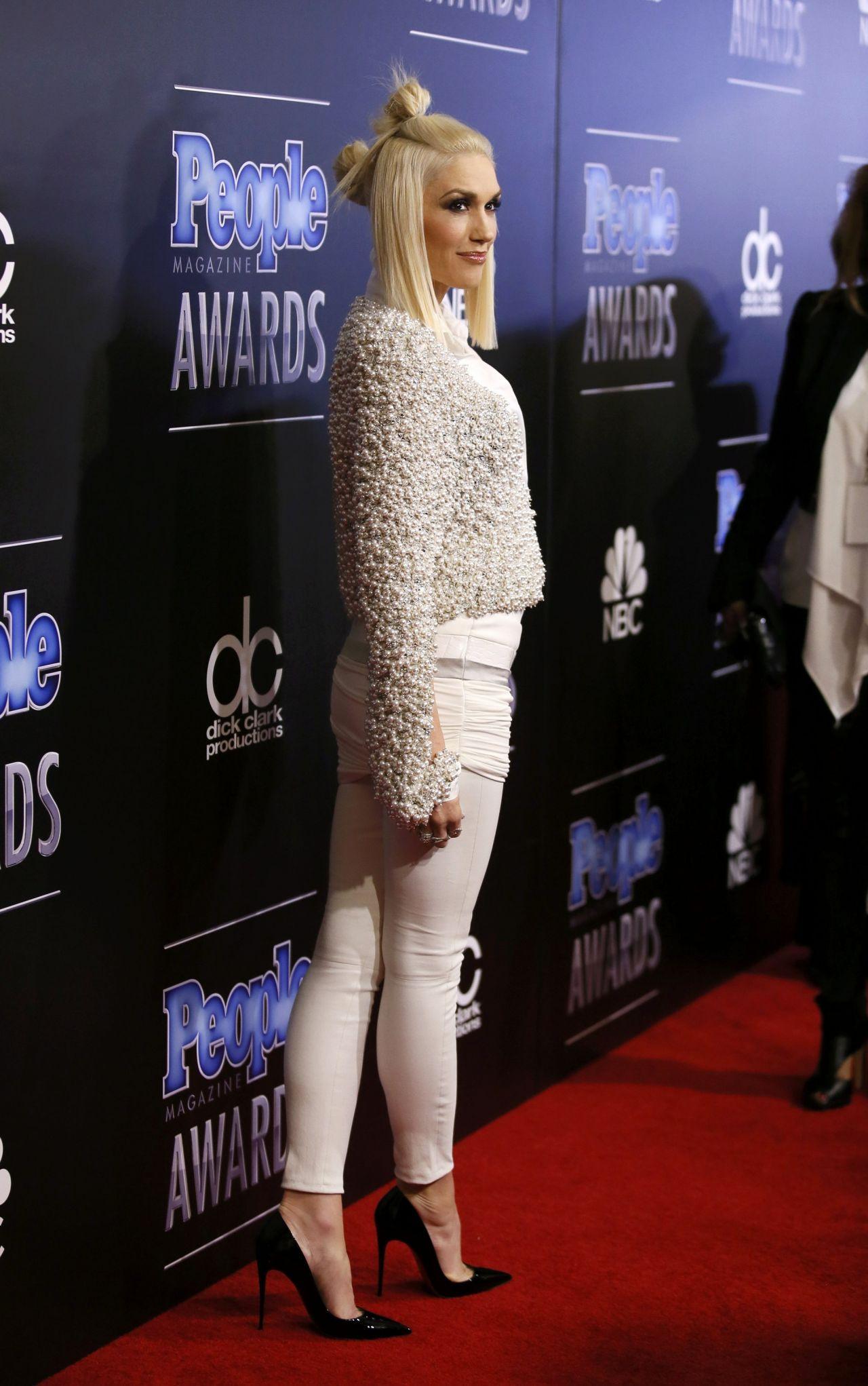 Gwen Stefani  2014 PEOPLE Magazine Awards in Beverly Hills