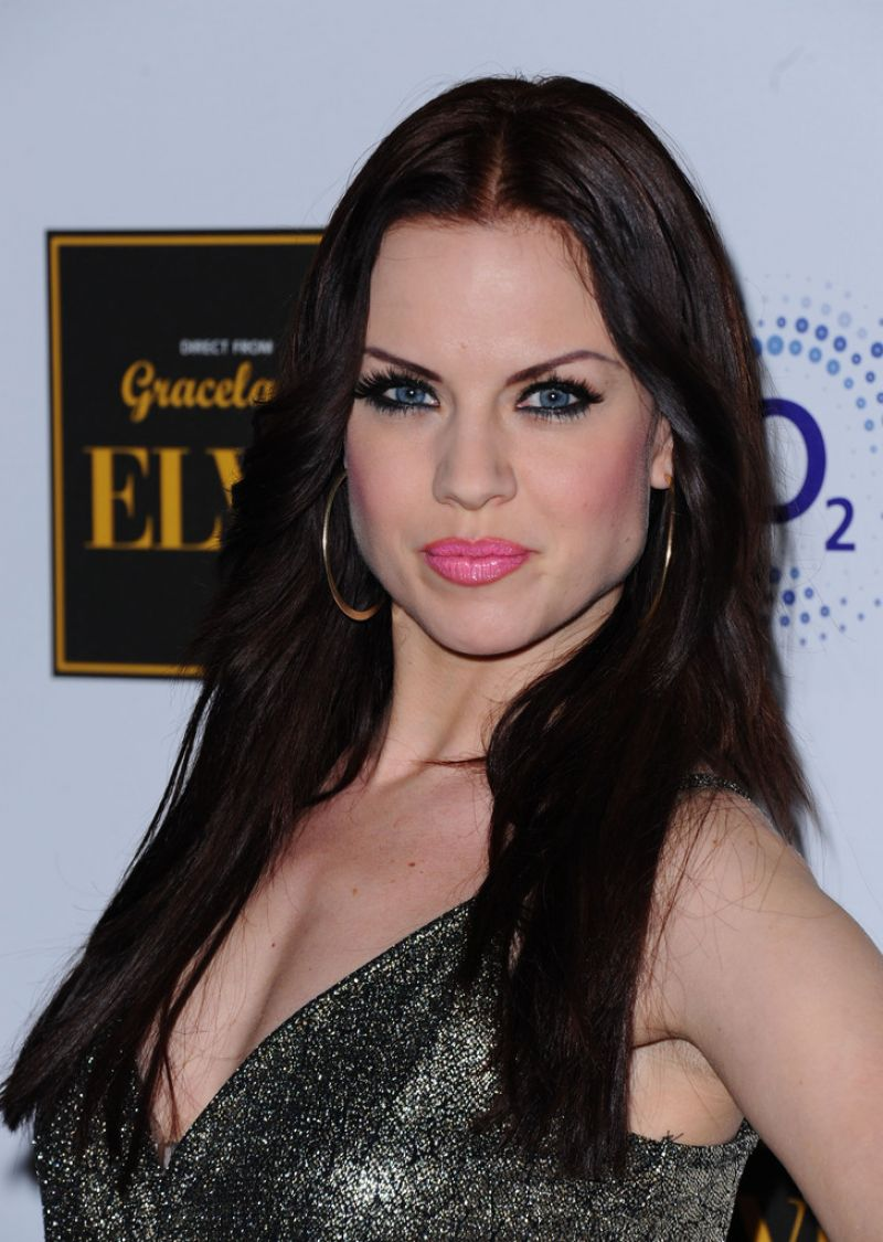 Joanne Clifton  Elvis at the 02 Exhibition in London