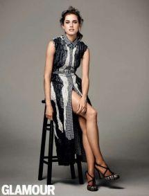Allison Williams Glamour Magazine