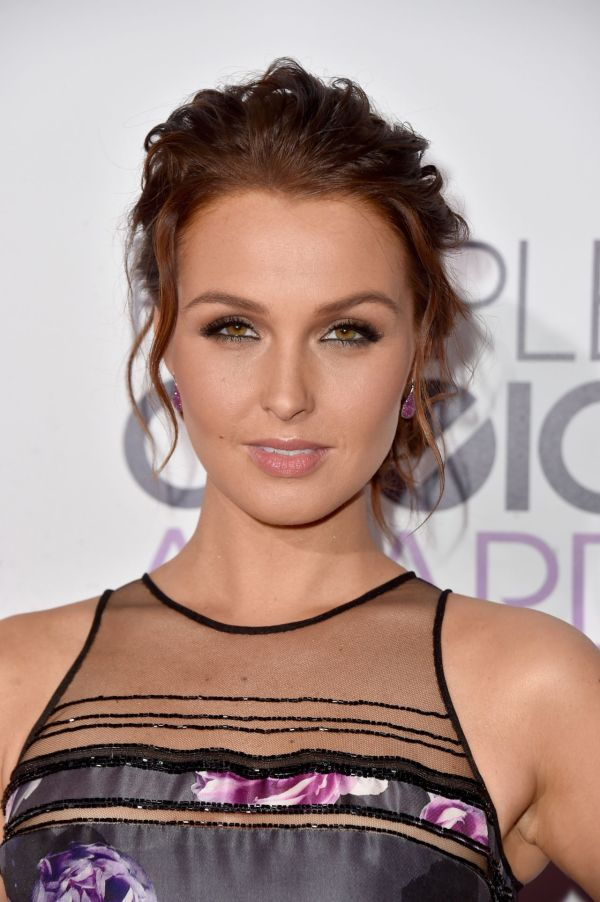 Camilla Luddington 2015 People Choice Awards In Los Angeles