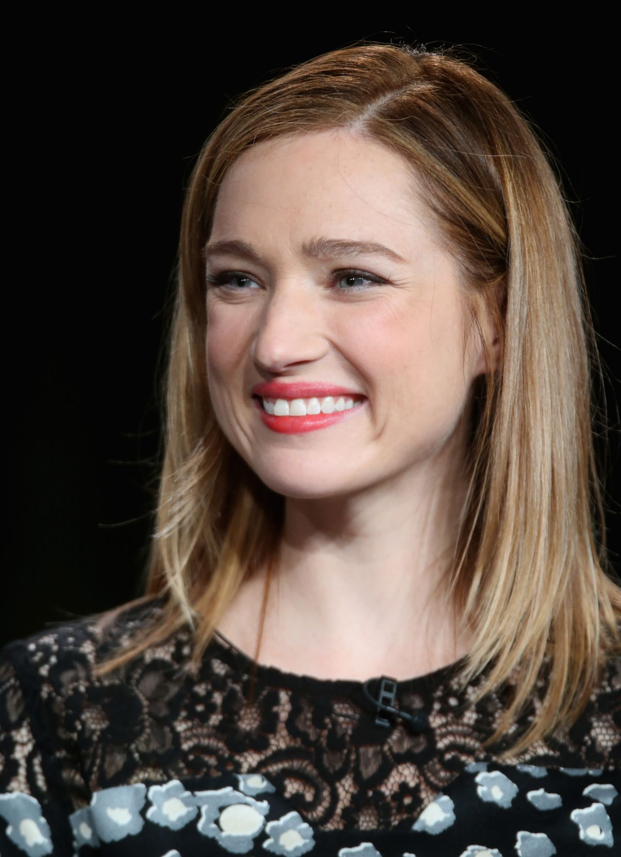 Kristen Connolly  The Whispers Panel TCA Press Tour in