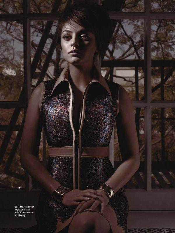Mila Kunis - Glamour Magazine Germany February 2015 Issue