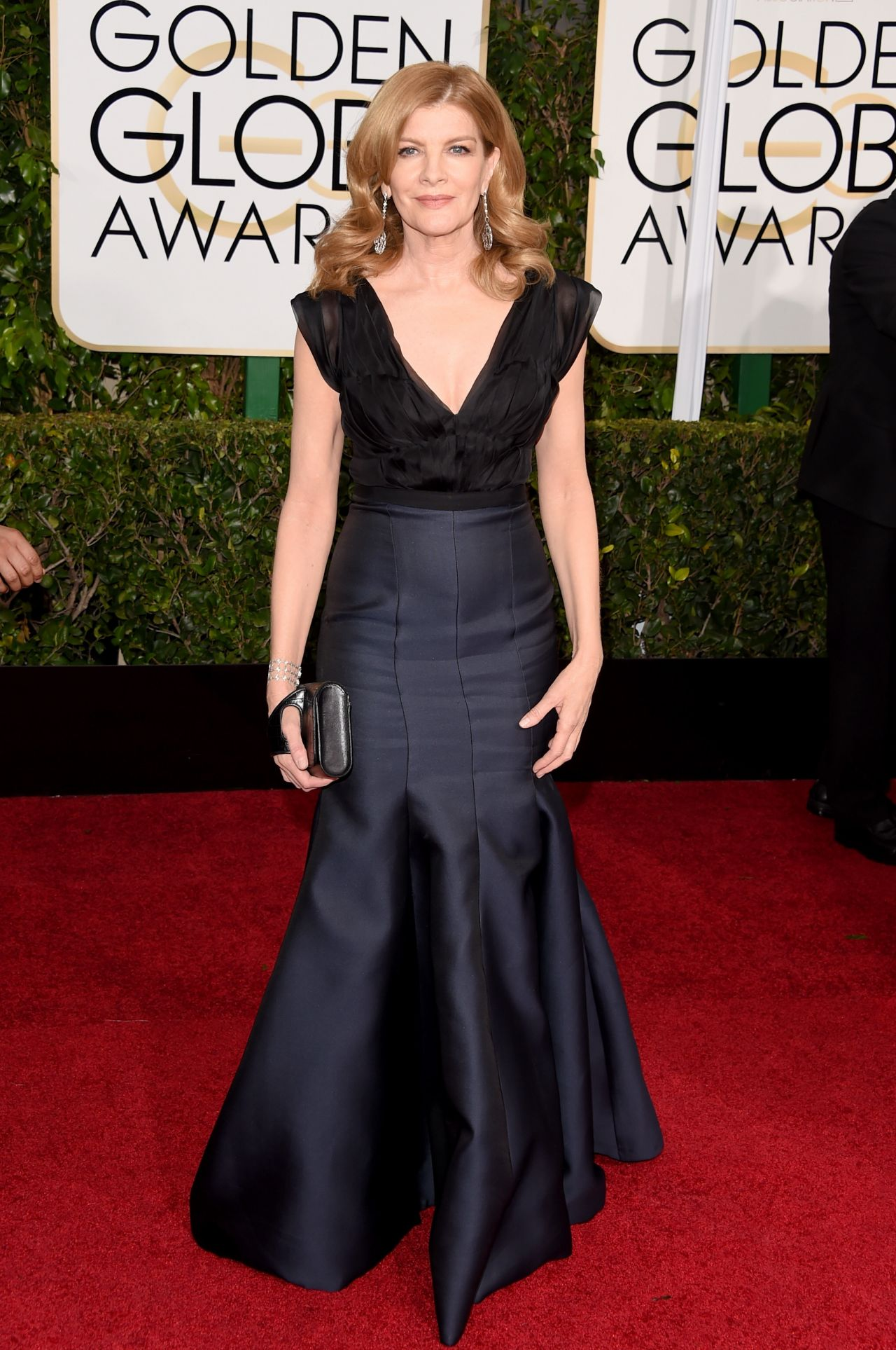Rene Russo  2015 Golden Globe Awards in Beverly Hills