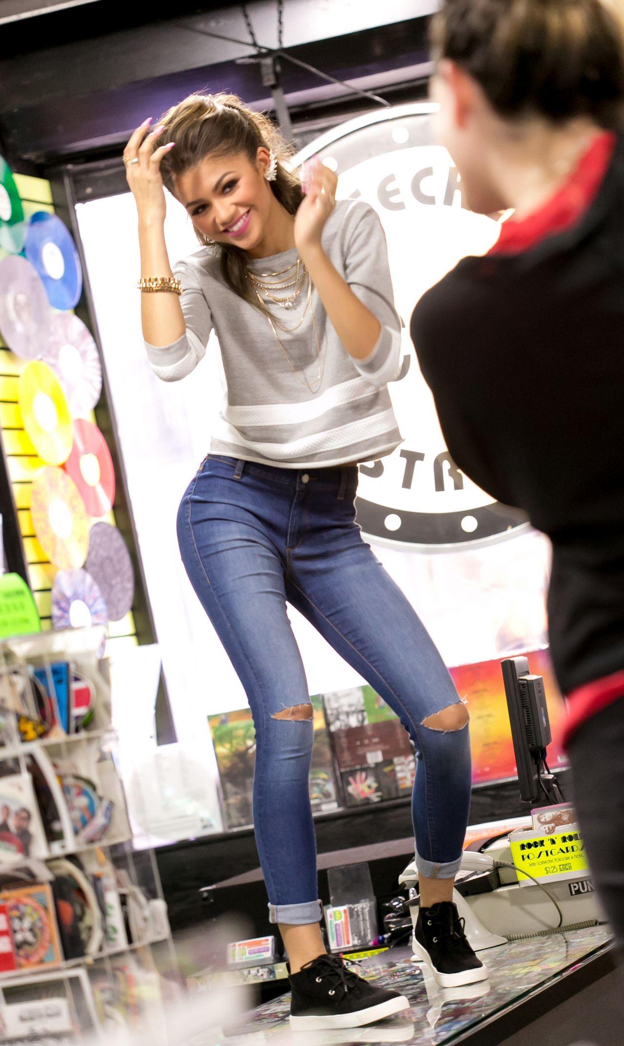 Zendaya Coleman Photoshoot  Material Girl 2015 Spring