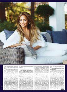Jennifer Lopez - Hola Magazine Spain February 2015 Issue