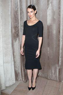 Katie Holmes - Zac Posen Fashion Show Vanderbilt