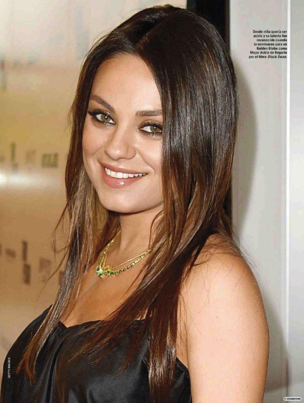 Mila Kunis - Vanidades Magazine Mexico February 2015 Issue