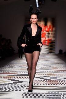 Naomi Campbell Fashion Show 2015