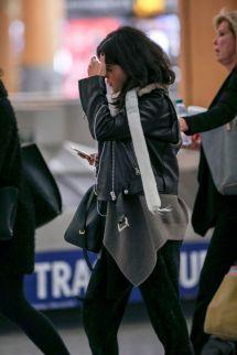 Selena Gomez at the Airport 2015