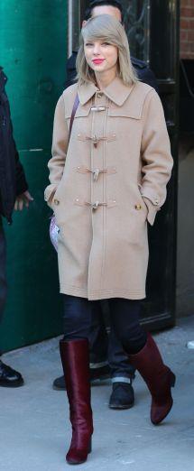 Taylor Swift Winter Style