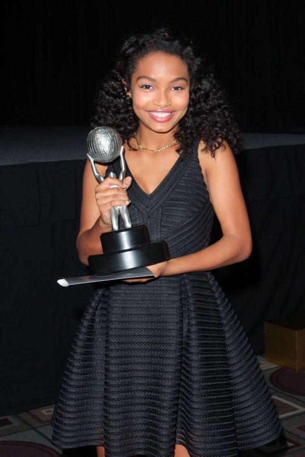 Yara Shahidi 2015 Naacp Awards In Pasadena