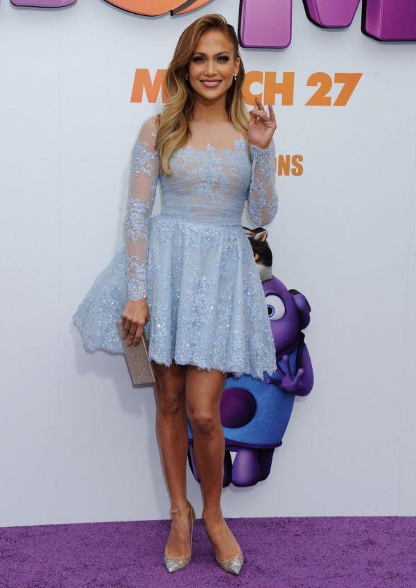 Jennifer Lopez Premiere Dress