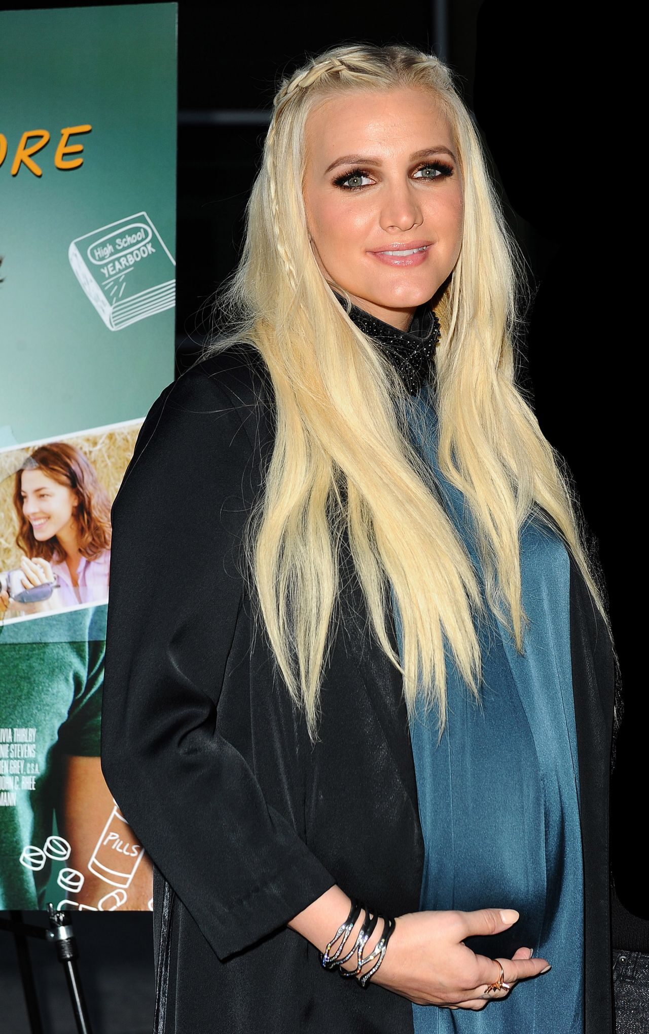 Ashlee Simpson  Just Before I Go Premiere in Hollywood