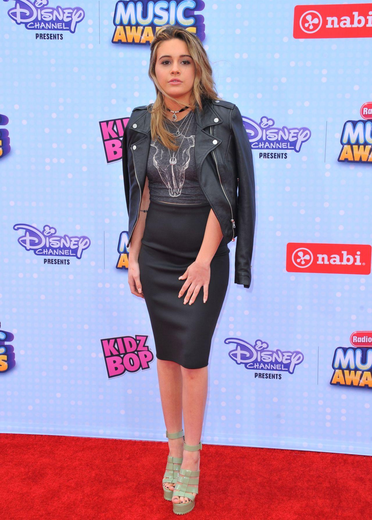 Beatrice Miller  2015 Radio Disney Music Awards in Los