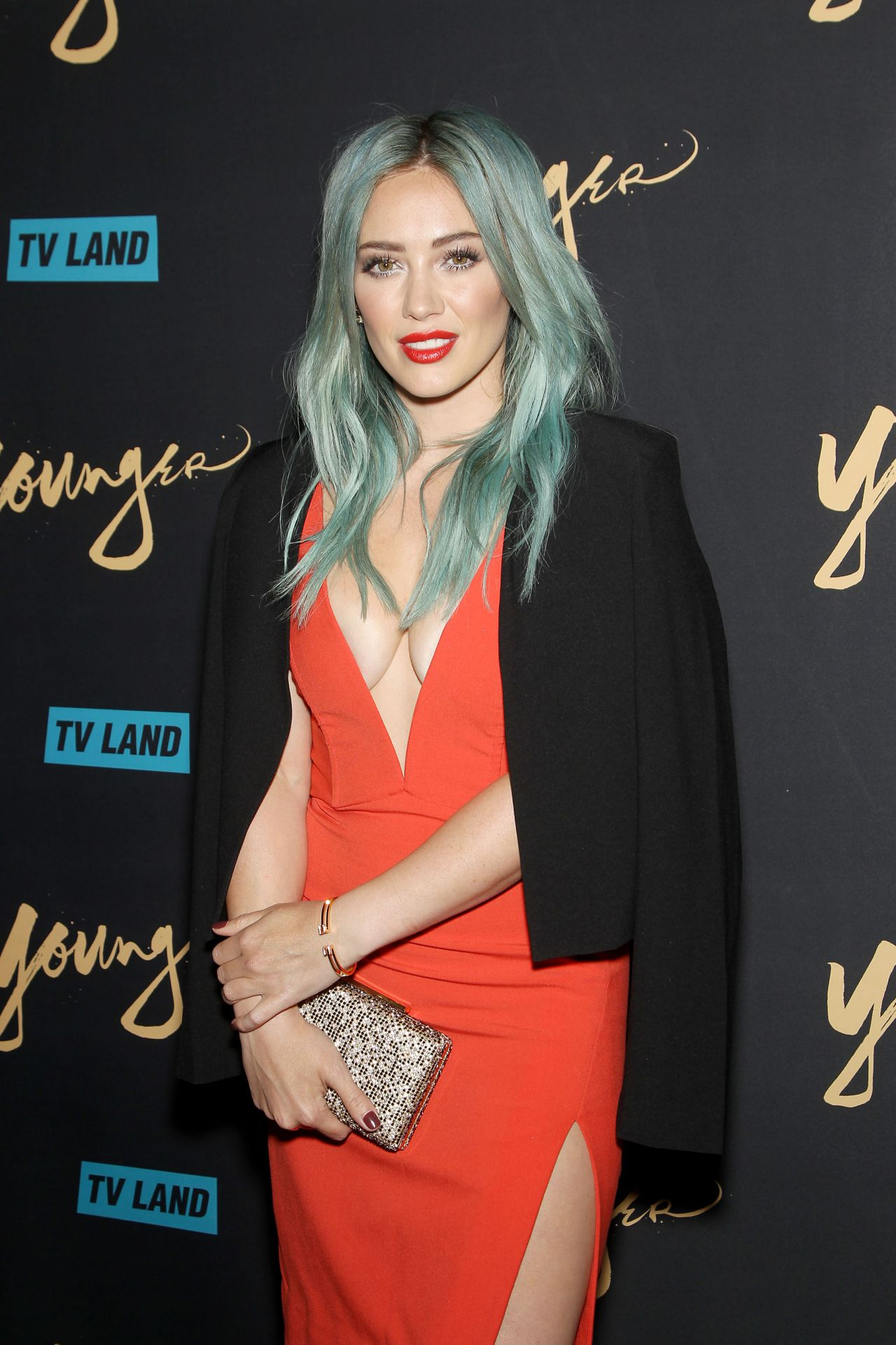 Hilary Duff  TV Lands Younger Premiere in New York City