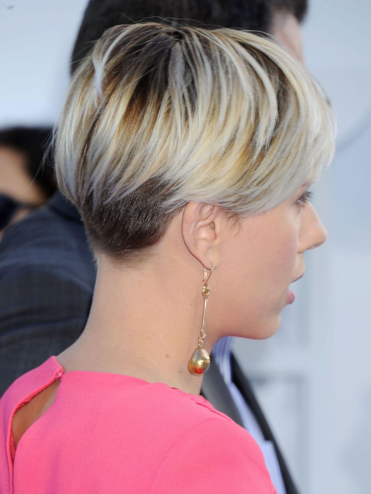 Scarlett Johansson 2015 MTV Movie Awards In Los Angeles