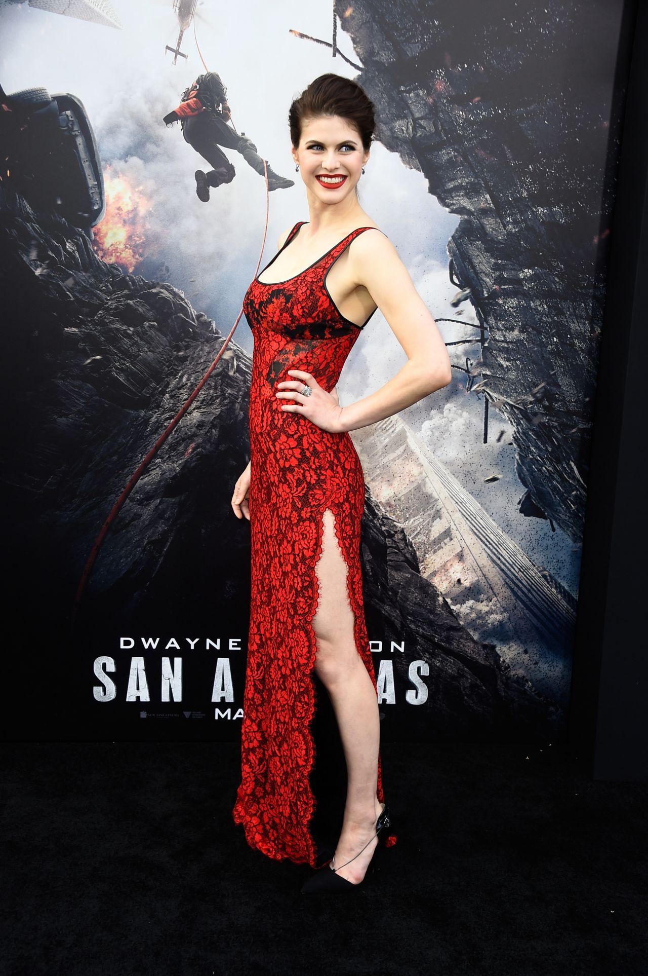Alexandra Daddario San Andreas : alexandra, daddario, andreas, Alexandra, Daddario, Andreas, Premiere, Hollywood, CelebMafia