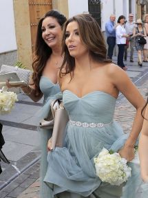 Eva Longoria Wedding Party