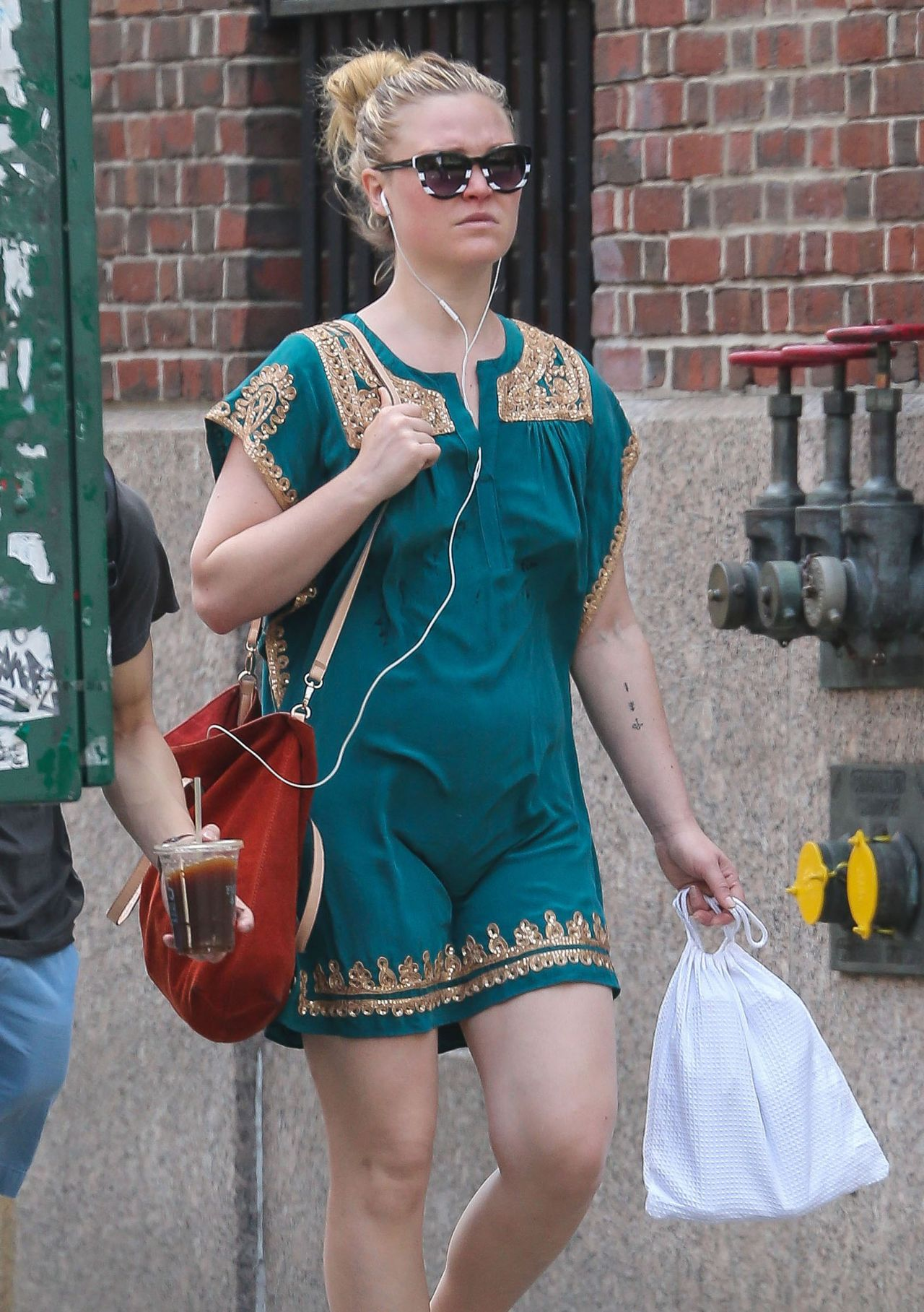 Julia Stiles  Out in New York City May 2015