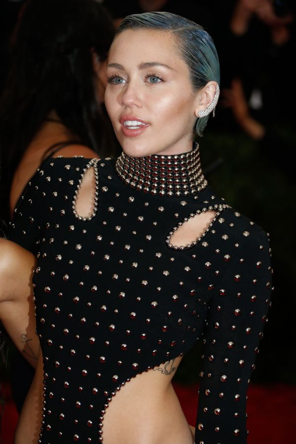 Miley Cyrus 2015 Costume Institute Benefit Gala In York City