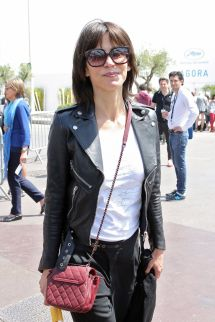 Sophie Marceau Casual Style - In Cannes 2015