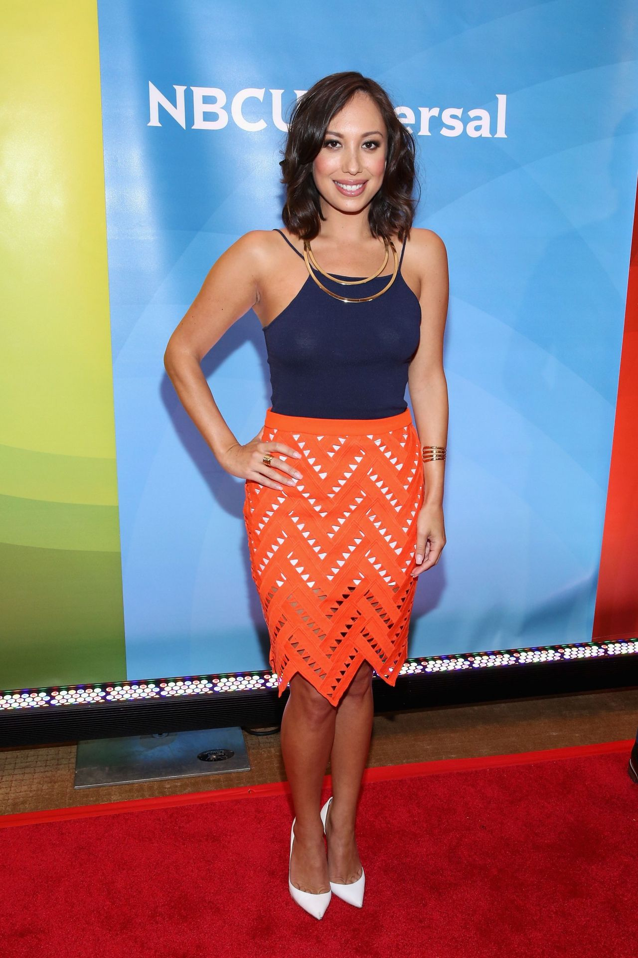 Cheryl Burke  NBCs 2015 New York Summer Press Day