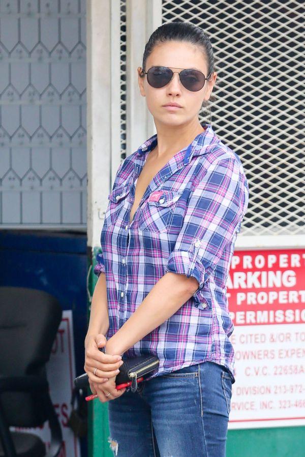 Mila Kunis - In La June 2015
