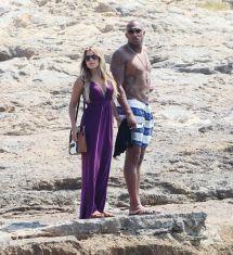 Sylvie Meis In Bikini - With Boyfriend Formentera