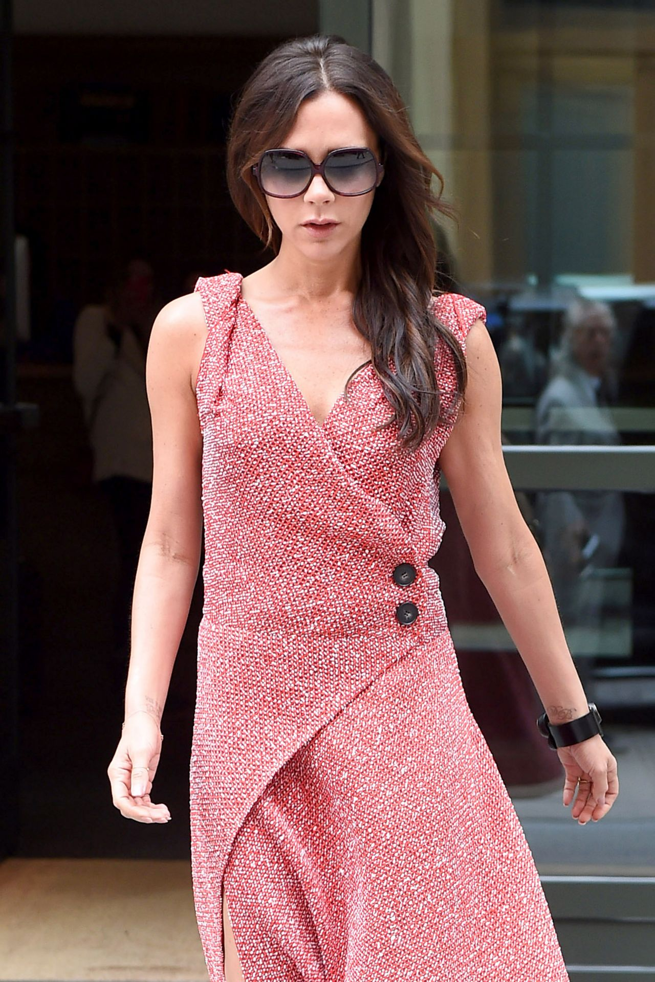 Victoria Beckham  Out in Soho NY June 2015