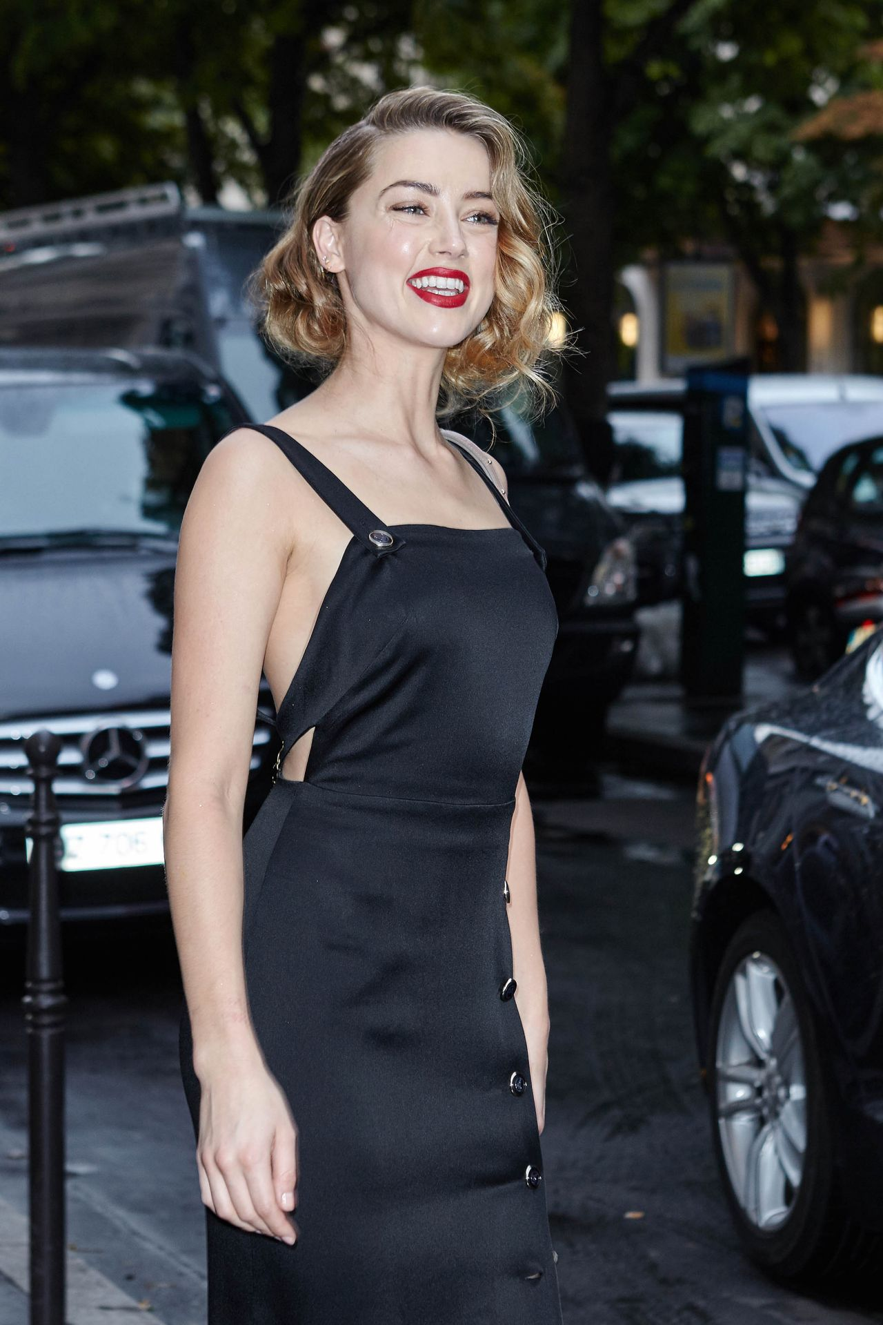 Amber Heard  Bulgari Haute Couture Cocktail Party in Paris July 2015