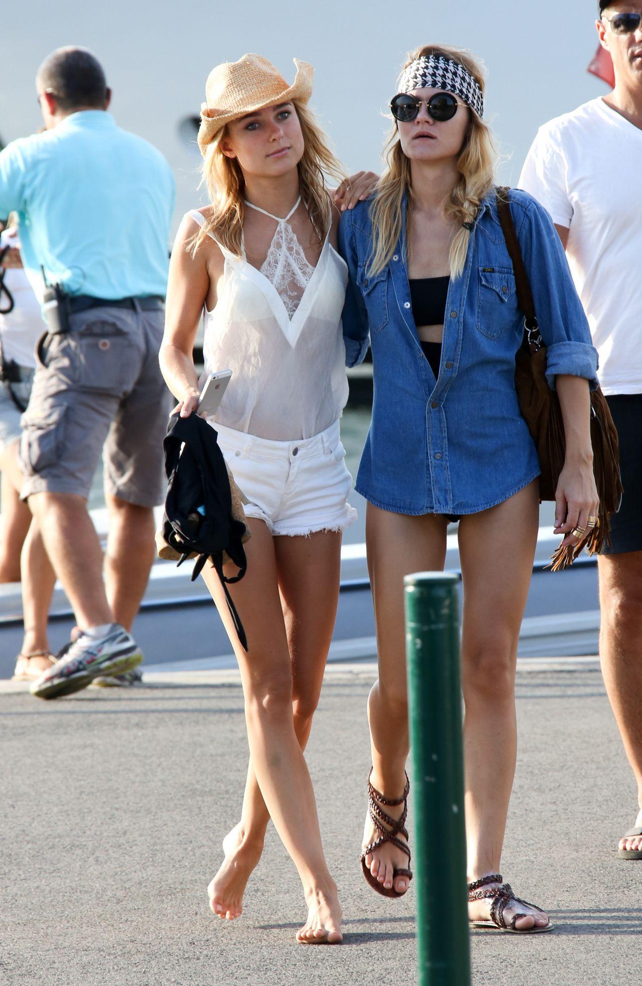 Kimberley Garner Summer Style  Out in Saint Tropez July 2015