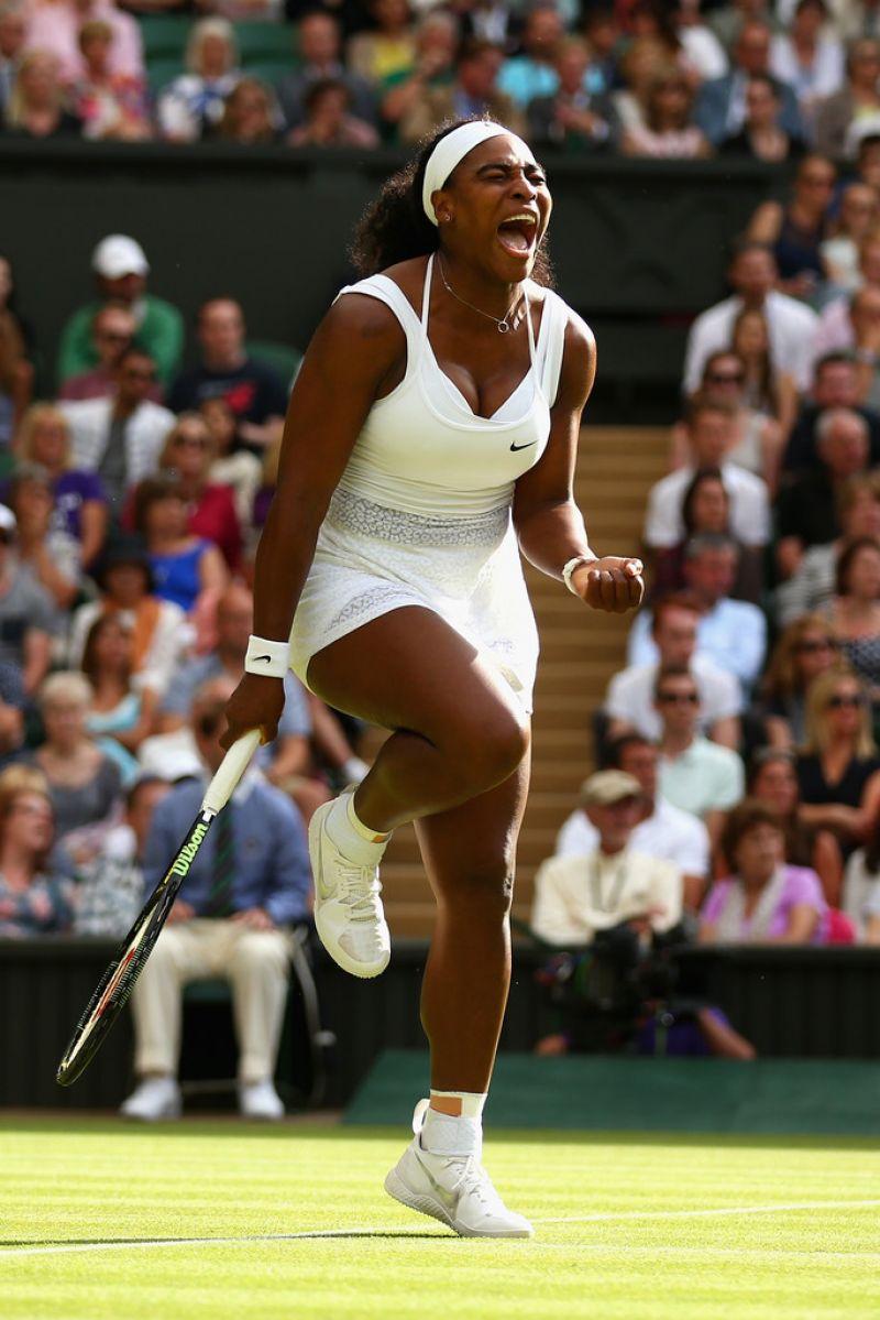 Serena Williams  Wimbledon Tournament 2015  Quarterfinal