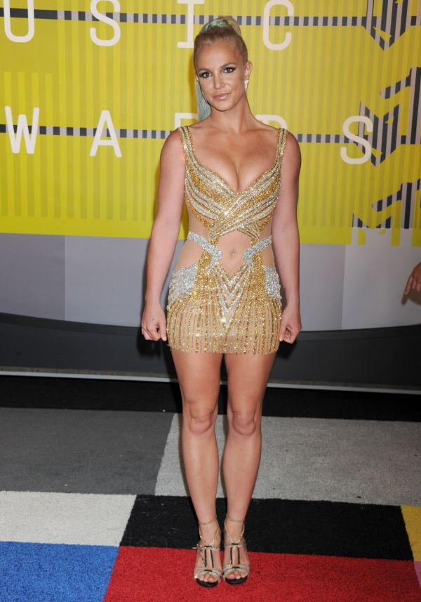 Britney Spears - 2015 Mtv Video Music Awards Microsoft Theater In Los Angeles
